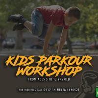 Kids Parkour Workshop - Level 1