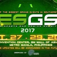 Electronic Sports and Gaming Summit (ESGS) 2017