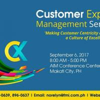 Customer Experience Management Seminar 2017