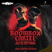 Chaos Manila Features International DJ Duo Boombox Cartel On July 28