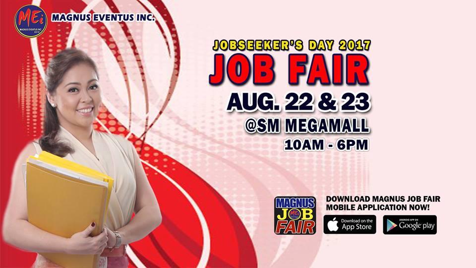 Jobseeker's Day 2017 Job Fair at Megamall