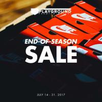 The Playground Premium Outlet End of Season Sale