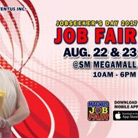 Jobseeker's Day 2017 Job Fair at Megamall