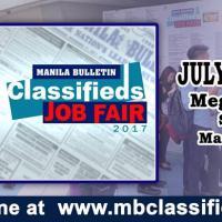 Manila Bulletin's 3rd Leg of MB Job Fair for 2017