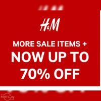 H&M at Uptown Bonifacio on Sale!