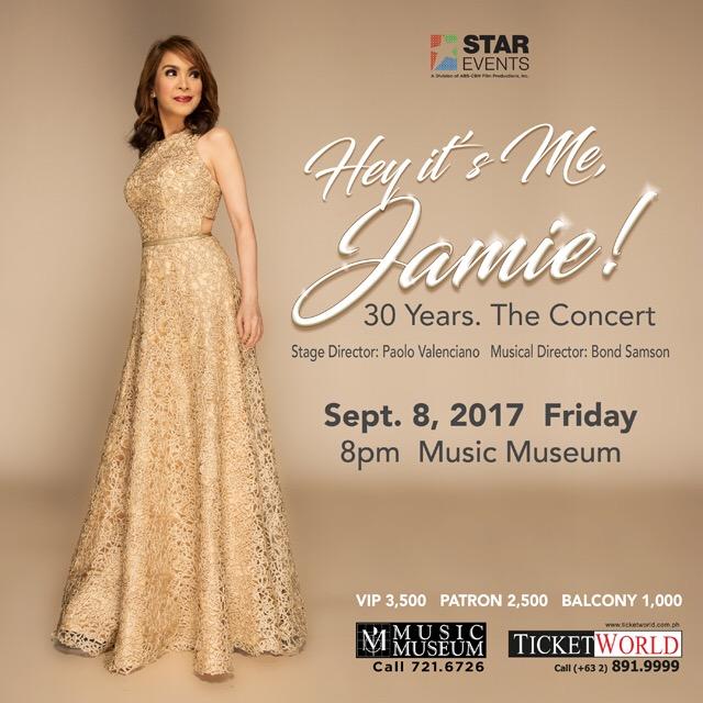 Hey It's Me, Jamie! 30 Years. The Concert