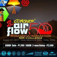 Conquer Airflow 50 Windfarm Ultramarathon 2017