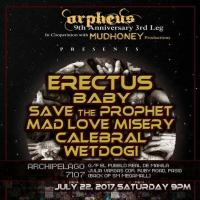 ORPHEUS PRODUCTIONS 9TH YEAR ANNIVERSARY GIG 3RD LEG AT ARCHIPELAGO 7107