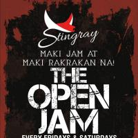THE OPEN JAM AT STINGRAY CAFE