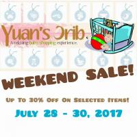 Weekend Sale up to 30% off!