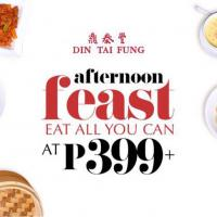 Din Tai Fung Eat All You Can for Php399!!