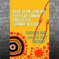 BLUE JEAN JUNKIES, CHILLITEES, EVEE KAE SIMON & JOHNNY ALEGRE AT SAGUIJO CAFE + BAR EVENTS