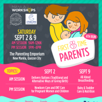 First Time Parents Workshop Series 2017