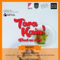 Tara kain! Food as Art: opening