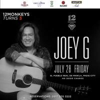 JOEY G. AT 12 MONKEYS MUSIC HALL & PUB