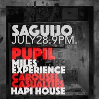 PUPIL LIVE AT SAGUIJO CAFE + BAR EVENTS