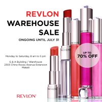 REVLON WAREHOUSE SALE: UP TO 70% OFF!!!