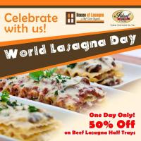 Food Promo: 50% Off Beef Lasagna at House of Lasagna!!
