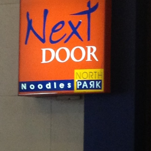 Next Door Noodles by North Park
