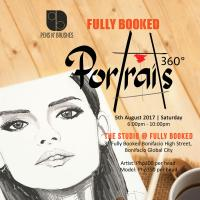 Pens N' Brushes x Fully Booked: The Launch of 'Portraits 360°' at 'The Studio'