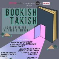BOOKISH TAKISH: BOOK DRIVE FOR THE KIDS OF MARAWI AT SOCIAL HOUSE