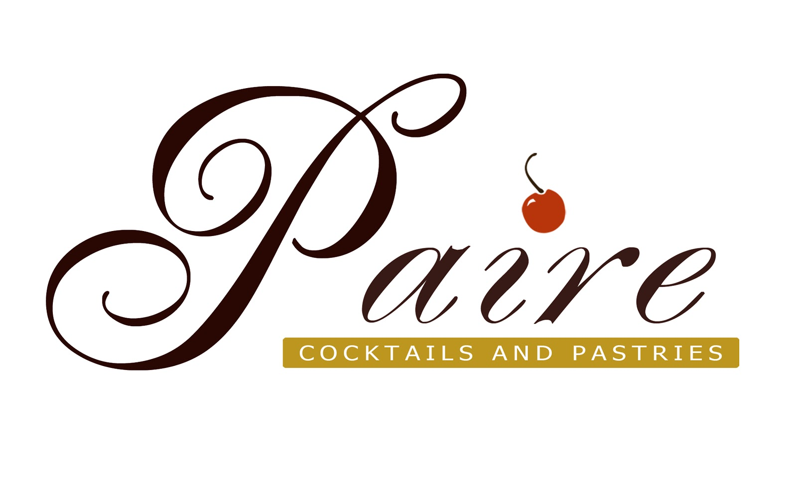 Paire Cocktails and Pastries
