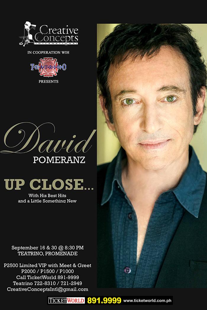 David Pomeranz Up Close..