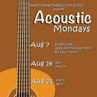 ACOUSTIC MONDAY AT HANDURAW PIZZA MANGO SQUARE