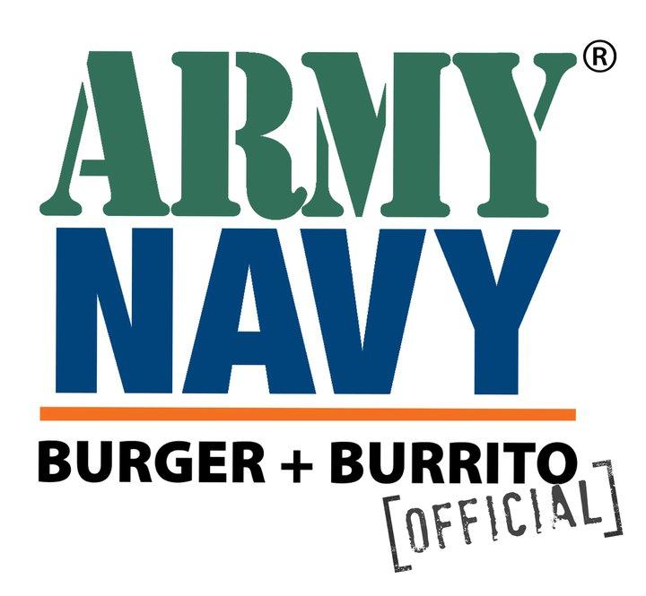 ARMYNAVY BURGER + BURRITO