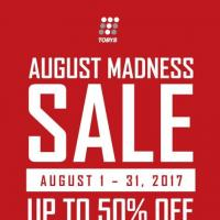 TOBY's Sports August Madness Sale