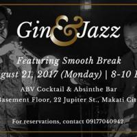 GIN & JAZZ NIGHT FEATURING SMOOTH BREAK AT ABV