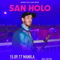 San Holo Live at the Black Market Manila