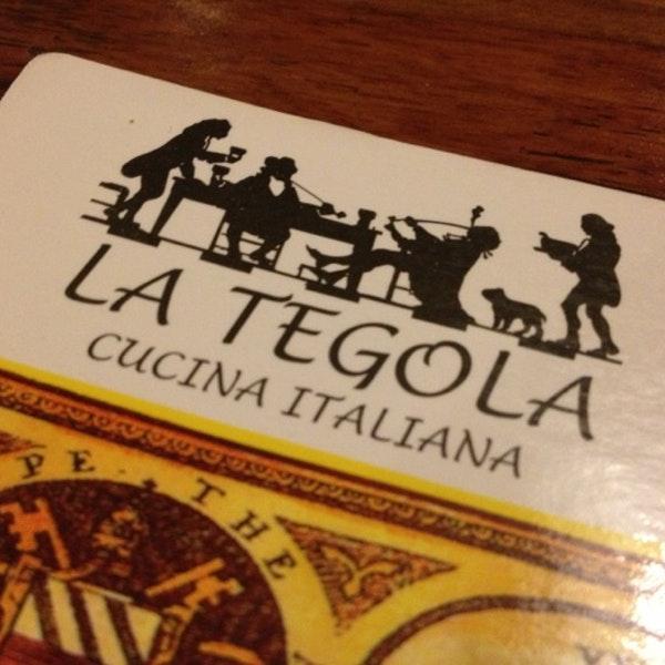 LA TEGOLA CUCINA ITALIANA - MARINA MALL