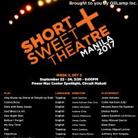 Short+Sweet Theatre Manila 2017 Week 2 Set 3