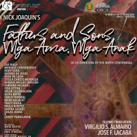 "UP Playwrights' Theatre Stages ""FATHERS AND SONS"" and its Filipino translation ""MGA AMA, MGA ANAK"""