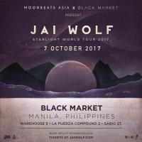 MOONBEATS ASIA x BLACK MARKET PRESENT JAI WOLF