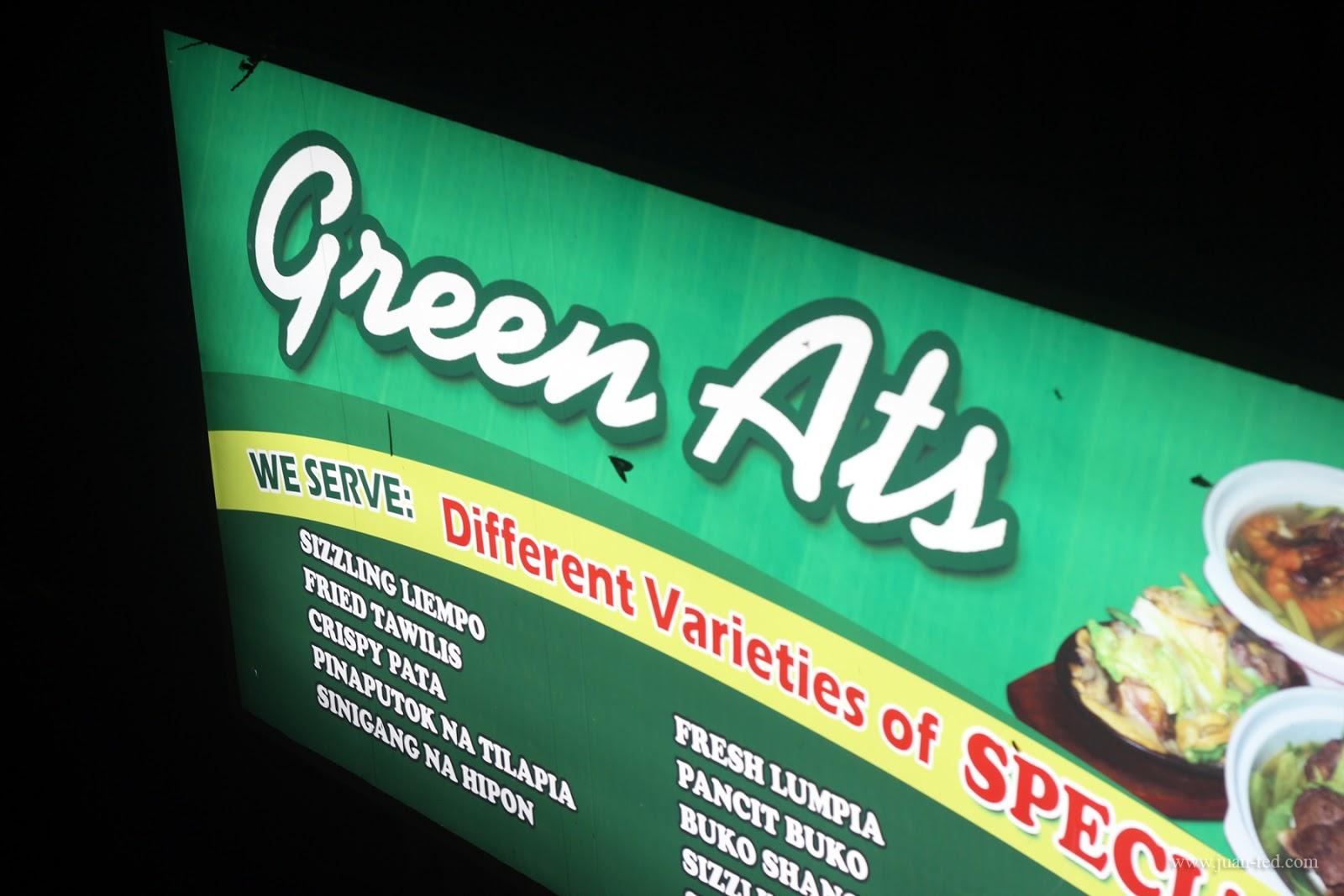 GREEN ATS BULALOHAN
