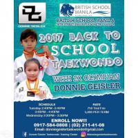 2017 Back-to-School Taekwondo
