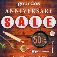 GOURDO's Anniversary Sale