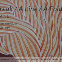A BREAK/ A LINE/ A FOLD