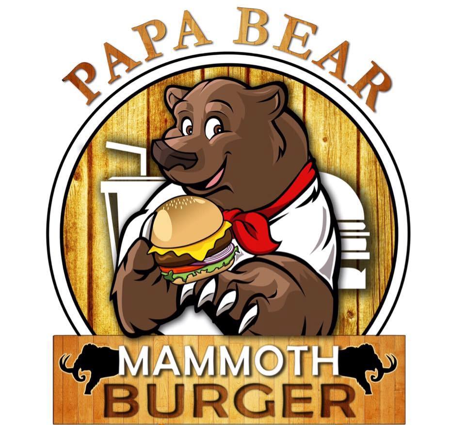 PAPA BEAR MAMMOTH BURGER