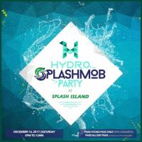 Hydro SplashMOB party at SPLASH ISLAND