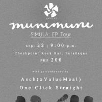 "MUNIMUNI - ""SIMULA"" EP TOUR AT CHECKPOINT ROCK BAR"