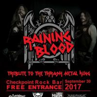 RAINING BLOOD AT CHECKPOINT ROCK BAR