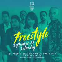 FREESTYLE AT 12 MONKEYS MUSIC HALL & PUB