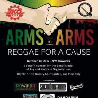 ARM's in ARM's REGGAE for a CAUSE AT THE QUARRY BEER GARDEN