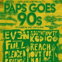 PAPS Music X SIN Project Presents: PAPS GOES 90's AT EAT AND RUN RESTOBAR