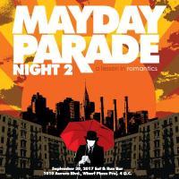 Mayday Parade Night 2: A Lesson In Romantics AT EAT AND RUN RESTOBAR