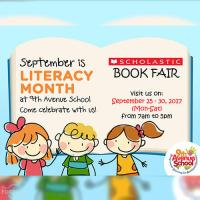 Literacy Month Book Fair at 9th Avenue School