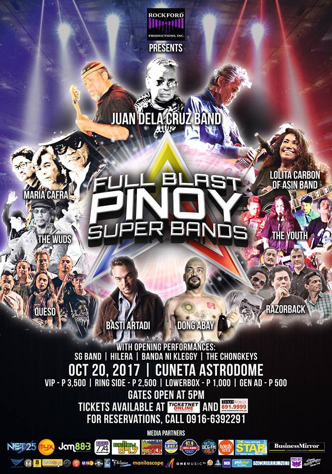 Full Blast Pinoy Super Bands